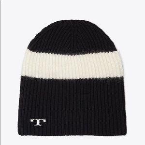 Tory Burch❤️NEW❤️striped wool ski beanie
